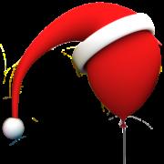 Balloons santa faviconx512